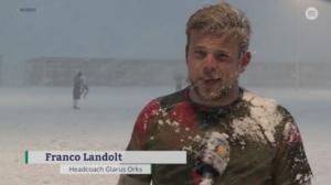 Franco Landolt, Headcoach Glarus Orks, Screenshot suedostschweiz.ch