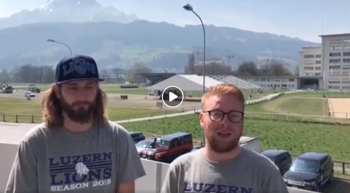 Screenshot Facebook Page Luzern Lions