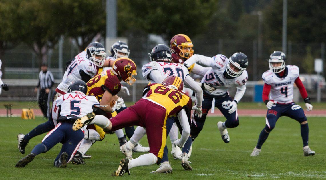 AF Winterthur Warriors vs. Calanda Broncos   Foto: Michelle Brügger (Szenemagazin)